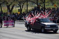 2016 nacional Cherry Blossom Parade no Washington DC Imagens de Stock Royalty Free