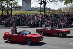 2016 nacional Cherry Blossom Parade no Washington DC Foto de Stock