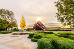 Nacional Convention Center da rainha Sirikit Foto de Stock Royalty Free