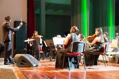 Nacional da orquestra de Cabo Verde Foto de Stock