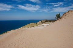 Nacional de sono das dunas do urso Lakeshore Imagem de Stock