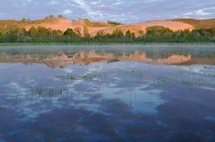 Nacional de sono das dunas do urso Lakeshore Foto de Stock Royalty Free