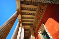 Nacional e universidade de Kapodistrian foto de stock