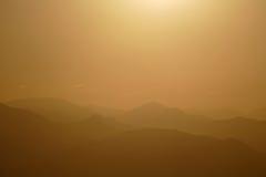 Nacional Forest Dawn de Angeles Imagens de Stock