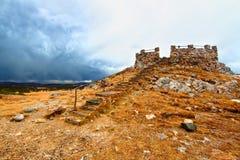 Nacional Forest Wyoming da curva da medicina Foto de Stock
