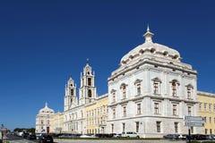 Nacional Palacio-Portugal de Mafra Imagen de archivo libre de regalías