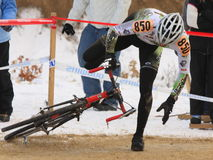Nacionales 2009 de Cyclocross Fotografía de archivo libre de regalías