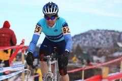 Nacionales 2009 de Cyclocross (Chris Sheppard) Imágenes de archivo libres de regalías