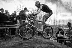 2014 nacionales de USAC Cyclocross Imagen de archivo