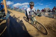 2014 nacionales de USAC Cyclocross foto de archivo libre de regalías