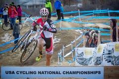 2014 nacionales de USAC Cyclocross Foto de archivo