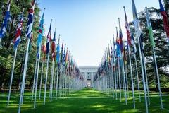 Naciones Unidas en Ginebra Fotos de archivo libres de regalías