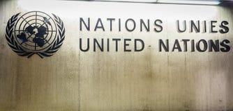 Naciones Unidas en Ginebra Imágenes de archivo libres de regalías