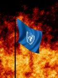 Naciones Unidas en tiempo de guerra Fotos de archivo libres de regalías