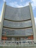 Naciones Unidas Viena Imágenes de archivo libres de regalías