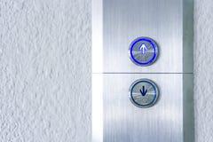 Naciska windę i klawiatury windę up Zdjęcie Stock