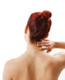 Nack pain stock photo