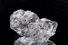 NaCl de cristal de sel Photographie stock libre de droits