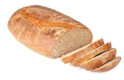 Naco cortado do pão imagem de stock royalty free