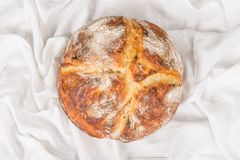 Naco cozido fresco do pão ácido da massa Imagem de Stock Royalty Free