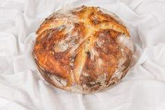 Naco cozido fresco do pão ácido da massa Imagens de Stock