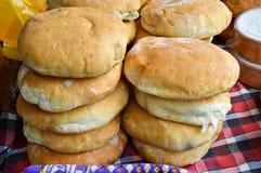 Naco de pão redondo fotos de stock royalty free
