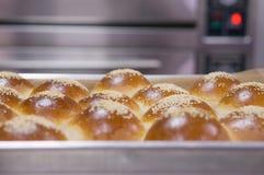Naco de pão redondo fotografia de stock royalty free
