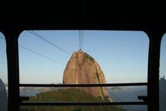 Naco do açúcar de Rio imagem de stock