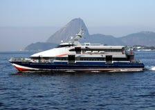 Naco do açúcar e o ferryboat Imagens de Stock