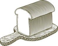 Naco do bloco xilográfico de pão Imagem de Stock Royalty Free