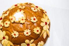 Naco do casamento Cozimento do pão imagens de stock royalty free