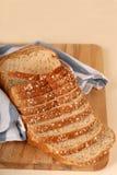 Naco do pão de trigo inteiro imagem de stock