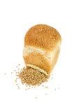 Naco do pão do farelo com grões e orelha do trigo Foto de Stock Royalty Free