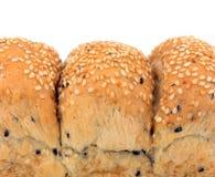 Naco do pão do sésamo foto de stock