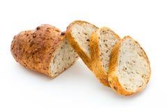 Naco do pão isolado no branco imagem de stock royalty free