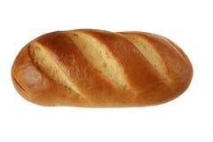 Naco do pão isolado no fundo branco Fotografia de Stock