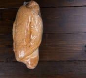 Naco do pão no envoltório do psiquiatra fotografia de stock royalty free