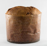 Naco inteiro do Panettone Fotografia de Stock Royalty Free