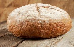 Naco redondo do pão preto imagem de stock royalty free