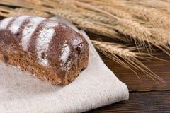 Naco saboroso do pão wholegrain saudável imagens de stock royalty free