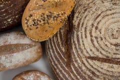 Nacos do pão com sésamo Fotos de Stock Royalty Free