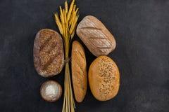 Nacos do pão com trigo Fotografia de Stock Royalty Free