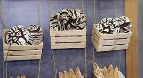 Nacos do pão de centeio Imagem de Stock Royalty Free
