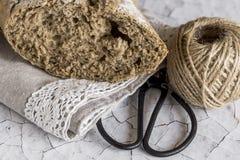 Nacos do pão integral Fotografia de Stock
