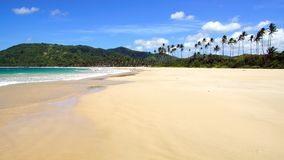 Nacpan Beach. El Nido Stock Photography