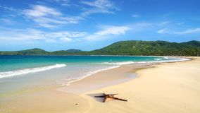 Nacpan Beach. El Nido Royalty Free Stock Images