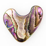 Nacre φυτώριο που διαμορφώνεται από μάργαρο όπως μια καρδιά στοκ φωτογραφία με δικαίωμα ελεύθερης χρήσης