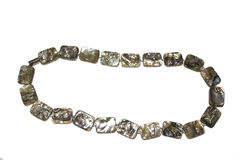 Nacre, haliotis beads Royalty Free Stock Photo