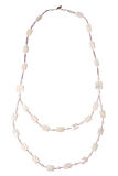 Nacre necklace stock images