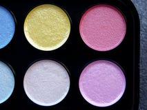 Nacreous målarfärger för vattenfärg Royaltyfri Bild